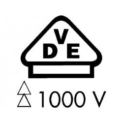 VDE Klešče kombinirke 2K 200 mm