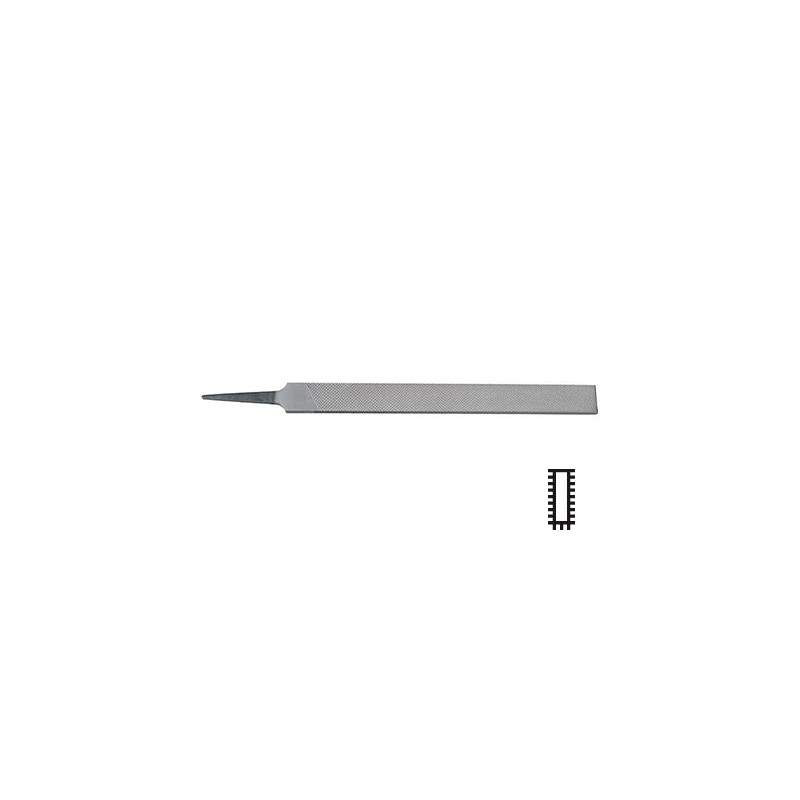 Groba ploščata pila H1 250 mm oblika A DIN7261 Format 65300251