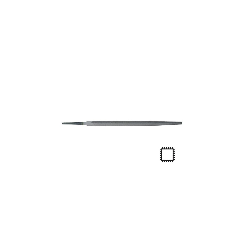 Fina kvadratna pila H3 200 mm oblika D DIN7261 Format 65480203