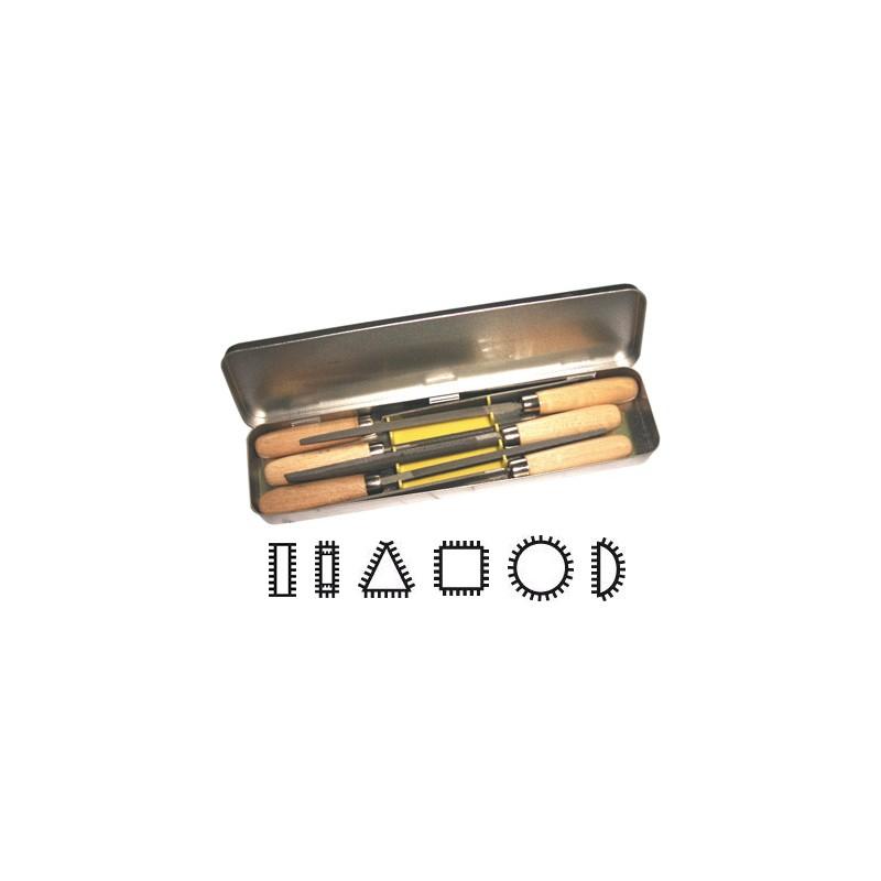 Komplet ročnih pil 100 mm 6/1 format 65810102