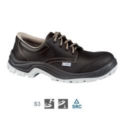 Nizki usnjeni delovni zaščitni čevlji Stormix BAS CAP S3 SRC Lemaitre